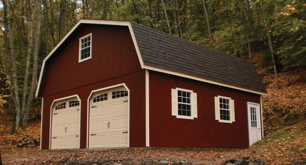 storage garage by PineTree Woodworks