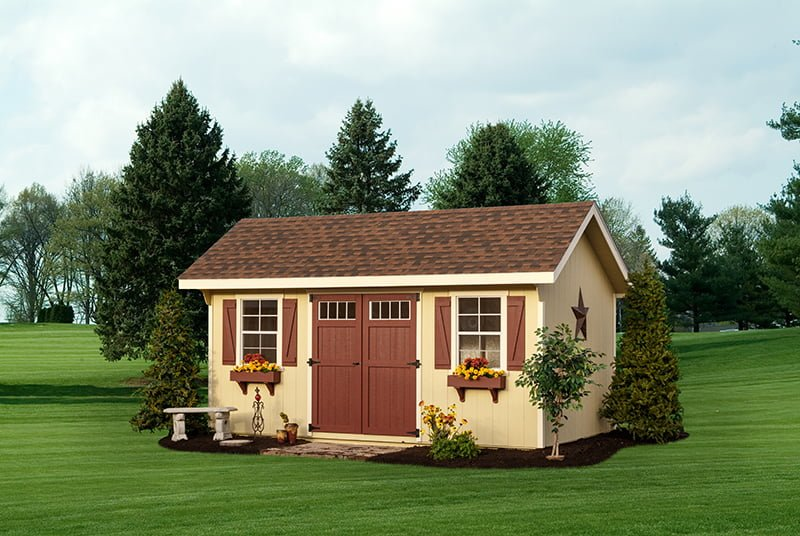 custom storage shed building by PineTree Woodworks 12