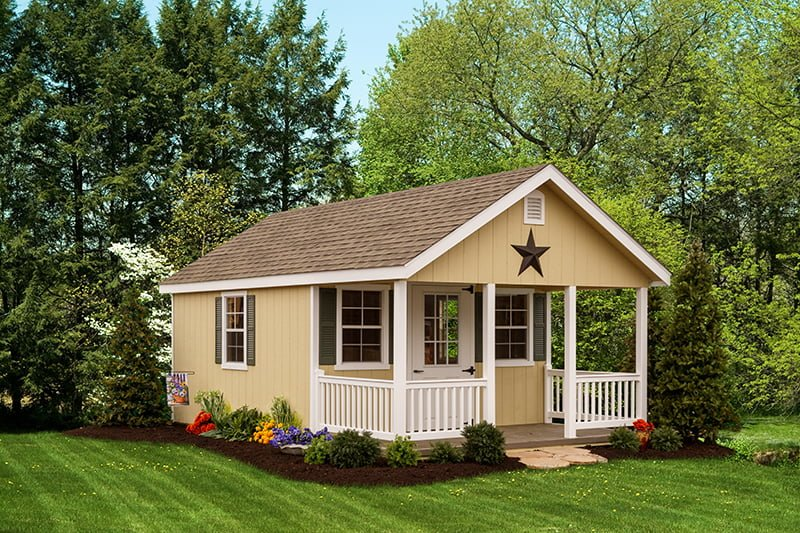 custom storage shed building by PineTree Woodworks 13